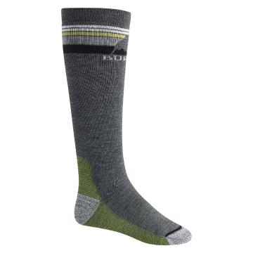 Burton Men's Emblem Mid Weight Socks - iron