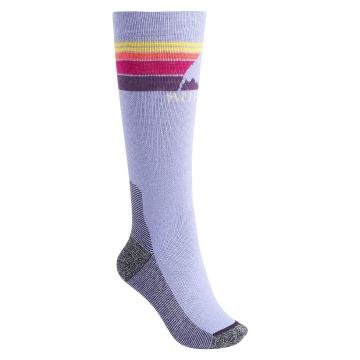 Burton Women's Emblem Mid Weight Socks - Aster Purple