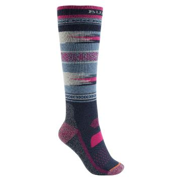 Burton Women's performance Mid Weight Socks - Mood Indigo