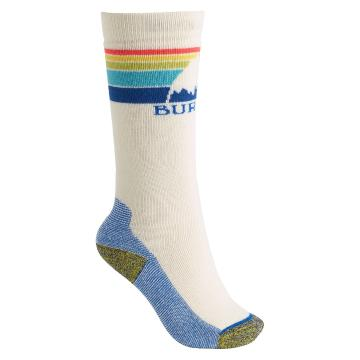 Burton Women's Emblem Mid Weight Socks - Stout White