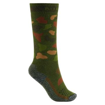 Burton Youth Performance Midweight Socks - Forest Duck