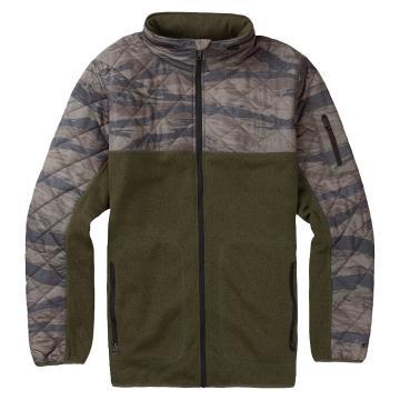 Burton Men's Pierce Full Zip Fleece Jacket