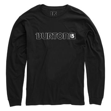 Burton 2016 Men's Logo Horizontal Long Sleeve Tee