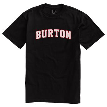 Burton Men's Basic College Short Sleeve T Shirt - True Black
