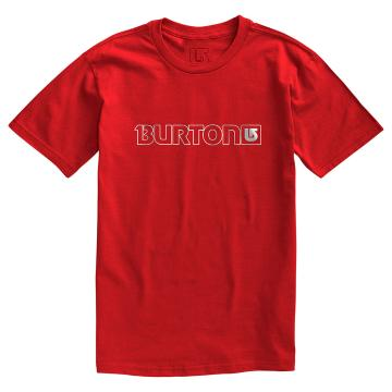 Burton 2016 Men's Logo Horizontal Short Sleeve Tee