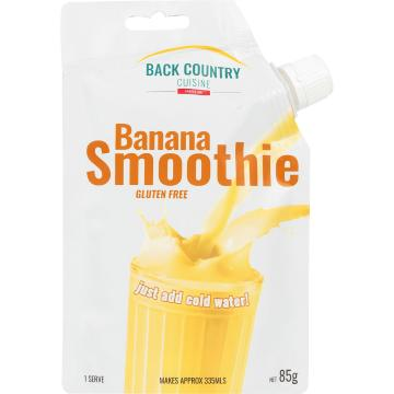 Back Country Cuisine Banana Smoothie 85Gm