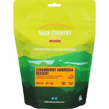 Back Country Cuisine 150gm - Regular - Strawberry Ice-Cream Dessert