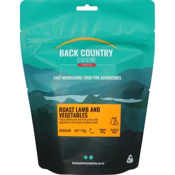 Back Country Cuisine Cuisine Meals - Roast Lamb and Vegetables