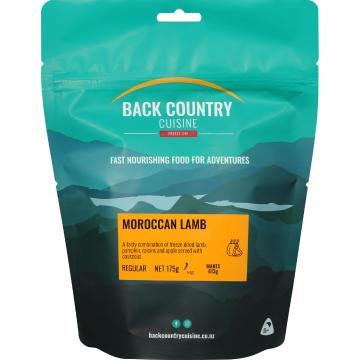 Back Country Cuisine Cuisine Meals - Morroccan Lamb