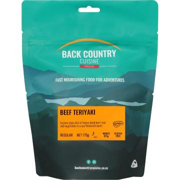 Back Country Cuisine Cuisine Meals - 2 Serve - Beef Teriyaki