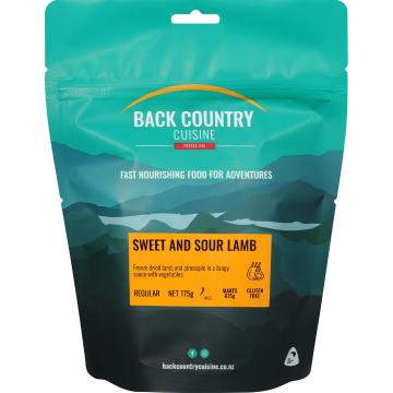 Back Country Cuisine Cuisine Meals - 2 Serve - Sweet and Sour Lamb