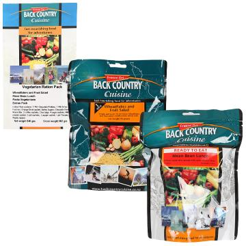 Back Country Cuisine Ration Pack - Vegetarian Ration Pack