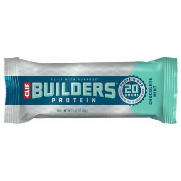 Energy Clif Builders Protein Bar - Chocolate Mint - Chocolate Mint