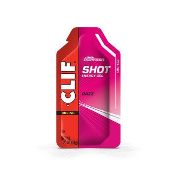 Energy Clif Shot Gel 34g - Raspberry Razz