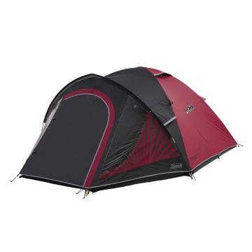 Coleman Festival 4P Dome Tent - Black/Red