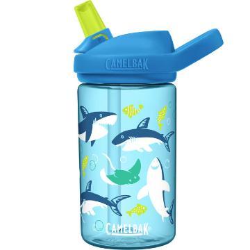 Camelbak eddy+ Kids Bottle 0.4L  - Sharks and Rays