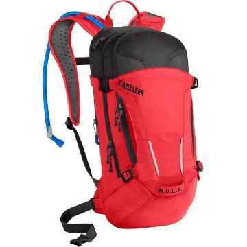 Camelbak M.U.L.E. 100 oz Hydration Pack - Racing Red/Black