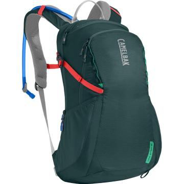 Camelbak Daystar 16 2.5L Hydration Pack - Deep Teal/Hot Coral