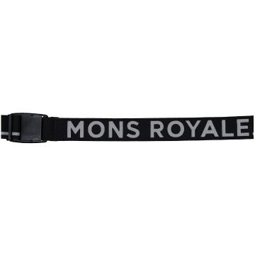 Mons Royale Belt Pip - Black/Grey