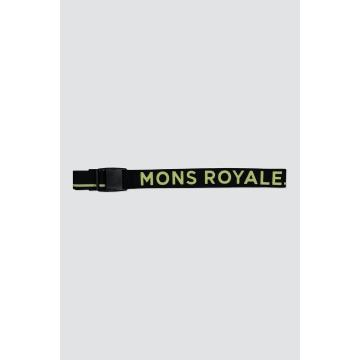Mons Royale Mons Belt Pip - Black/Sonic Lime