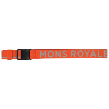 Mons Royale Unisex Mons Belt - Orange Smash/Grey