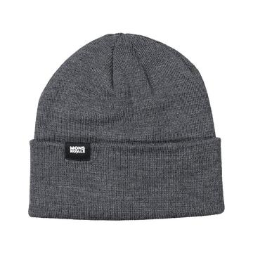 Mons Royale Unisex McCloud Beanie Solid - Charcoal Marl