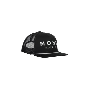 Mons Royale Unisex The ACL Trucker Cap - Black