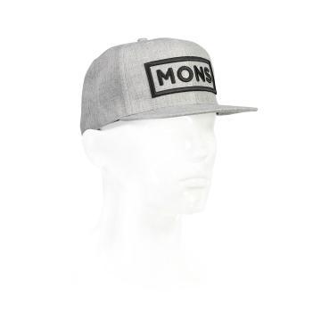 Mons Royale Wool Connor Cap - Grey Marl