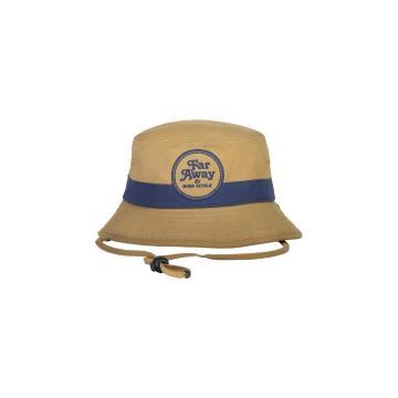 Mons Royale Unisex Beattie Bucket Hat - Dark Denim/Honey