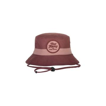 Mons Royale Unisex Beattie Bucket Hat - Pink Clay