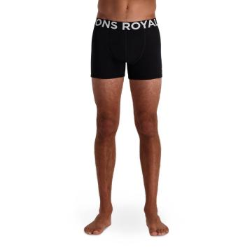 Mons Royale Men's Hold 'em Shorty Boxers - Black