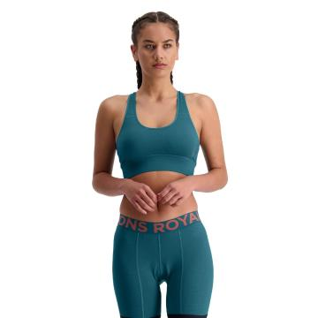 Mons Royale Women's Stratos Shift Bra  - Deep Teal