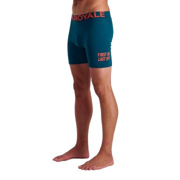 Mons Royale Men's Hold 'em Boxers FOLO - Atlantic