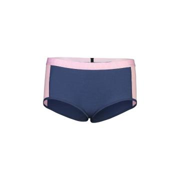 Mons Royale Women's Sylvia Boyleg - Dark Denim/Powder Pink