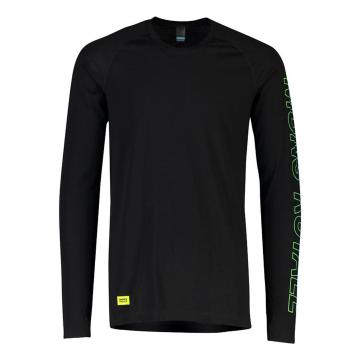 Mons Royale Men's Temple Tech Long Sleeve - Black