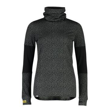 Mons Royale Women's Cornice Rollover Long Sleeve - Wild Thing