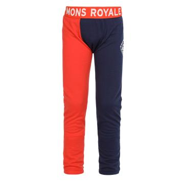 Mons Royale Boy's Merino Groms Long-John Pants - (8-13 Years)