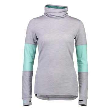 Mons Royale Women's Cornice Rollover Long Sleeve Top