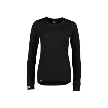 Mons Royale Women's Cornice Long Sleeve Base Layer - Black