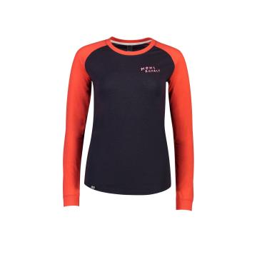 Mons Royale Women's Viva La Raglan - 9 Iron/Poppy