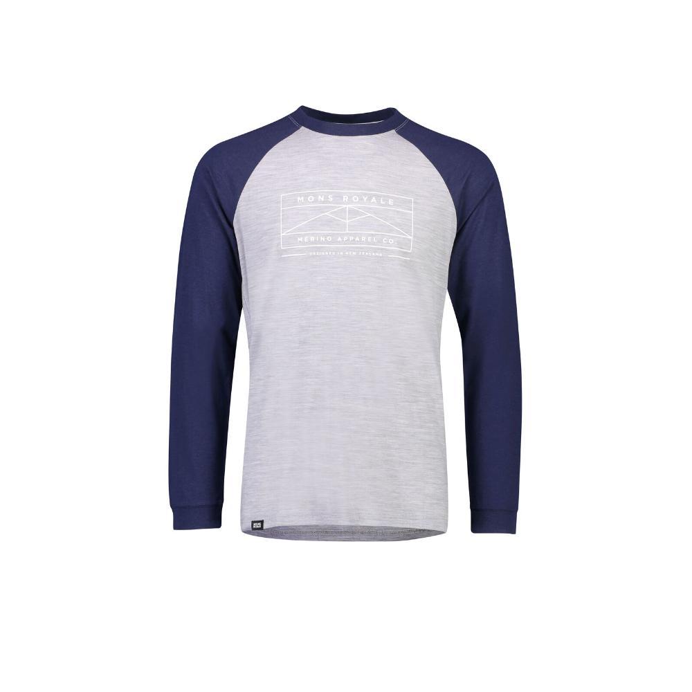 Men's Icon Raglan Long Sleeve Shirt