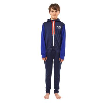 Mons Royale Boy's Groms Monsie - Nvy/Electric Blu