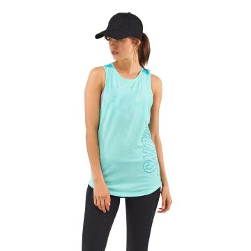 Mons Royale Women's MTN X Tank - Tropic/Peppermint