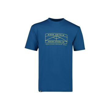 Mons Royale Men's ICON T-Shirt - OilyBlue