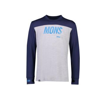 Mons Royale Men's Yotei Tech Long Sleeve
