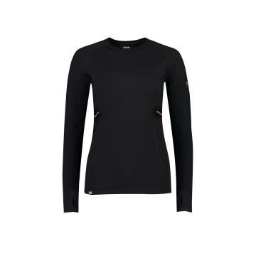 Mons Royale Women's Olympus 3.0 Long Sleeve - Black