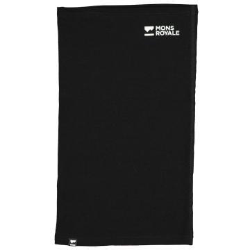 Mons Royale Daily Dose Merino Flex 200 Neckwarmer - Black