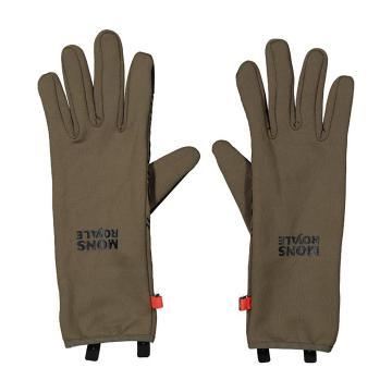 Mons Royale Unisex Amp Wool Fleece Gloves - Canteen