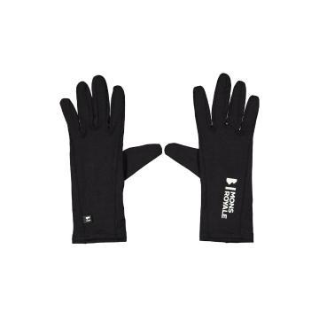 Mons Royale Unisex Volta Glove Liners - Black