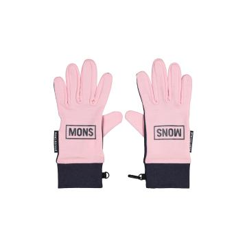 Mons Royale Elevation Gloves - Rosewater/9Iron